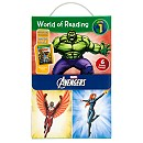 The Avengers World of Reading Book Set - Level 1
