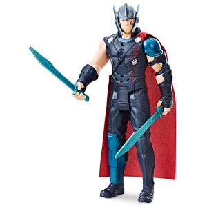 Thor Electronic Action Figure by Hasbro - Marvel Thor Ragnarok 3061045460675P