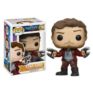 Star-Lord Pop! Vinyl Bobble-Head Figure by Funko / Chase - Guardians of the Galaxy Vol. 2 3065047370038P