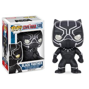 Black Panther Pop! Vinyl Bobble-Head Figure by Funko 3065047370073P