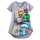 Marvel MXYZ ''Kawaii'' Art Nightshirt for Women