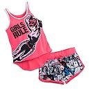 Black Widow Short Sleep Set for Women