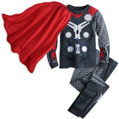 Thor Costume PJ PALS for Boys - Marvel's Avengers: Age of Ultron