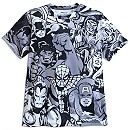 Marvel Comics Collage Tee for Men