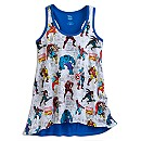 Marvel Comics Flared Tank Tee for Women
