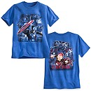 Captain America: Civil War Two-Sided Tee for Men
