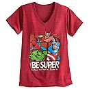 Marvel Heroes Heathered Tee for Women