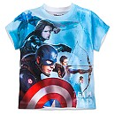 Marvel's Captain America: Civil War Two-Sided Tee for Boys