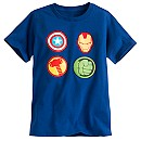 The Avengers Icons Glow Tee for Boys
