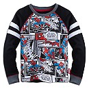 Spider-Man Long Sleeve Raglan Tee for Boys
