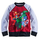 Avengers Raglan Sweatshirt for Kids