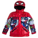 Spider-Man Comic Jacket With Hood for Kids - Personalizable