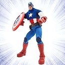 Marvel Ultimate Series Captain America Premium Action Figure - 11 1/2''