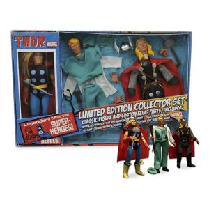 Thor Limited Edition Retro Action Figure Collector Set - 8'' 3061047452028P