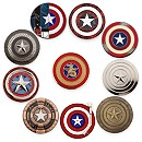 Captain America 75th Anniversary Pin Set - Limited Edition
