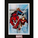 ''The Invincible Iron Man #7'' Lithograph by Salvador Larroca