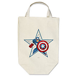 Captain America Reusable Canvas Bag - Create Your Own