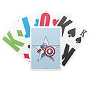 Captain America Playing Cards - Create Your Own