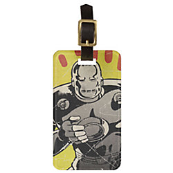 Iron Man Luggage Tag - Create Your Own