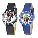 Marvel Time Teacher Watch with Bezel for Kids - Create Your Own
