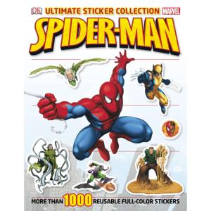 Spider-Man Ultimate Sticker Collection Book 7741055951061P