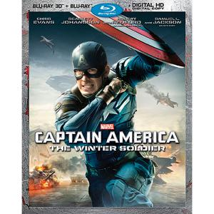 Captain America: The Winter Soldier Blu-ray 3-D Combo Pack 7745055551342P