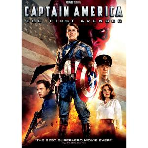 Captain America: The First Avenger DVD 7745055551387P