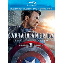 Captain America Blu-ray 3-D Combo Pack