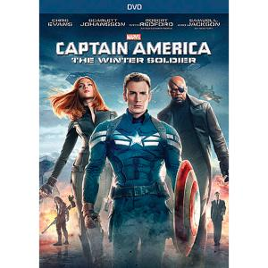 Captain America: The Winter Soldier DVD 7745055551660P