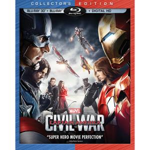 Captain America: Civil War 3D Blu-ray Collector's Edition 7745055551945P