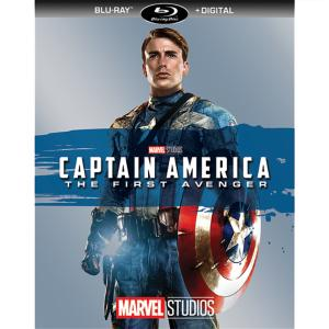 Captain America: The First Avenger Blu-ray + Digital Copy 7745055552394P