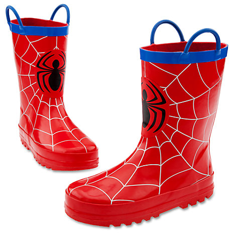 Spider Man Rain Boots For Boys Shoes Amp Socks Marvel Shop